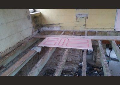 16 demontage du plafond du magasin