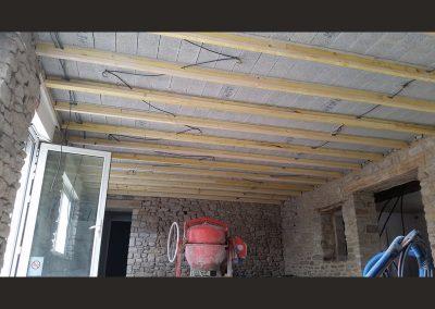 72 montage du plafond